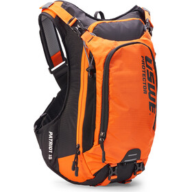 USWE Patriot 15 Protector Zaino, black/orange